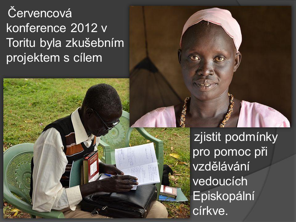 Červencová konference 2012 v Toritu byla zkušebním projektem s cílem zjistit podmínky pro pomoc při vzdělávání vedoucích Episkopální církve.