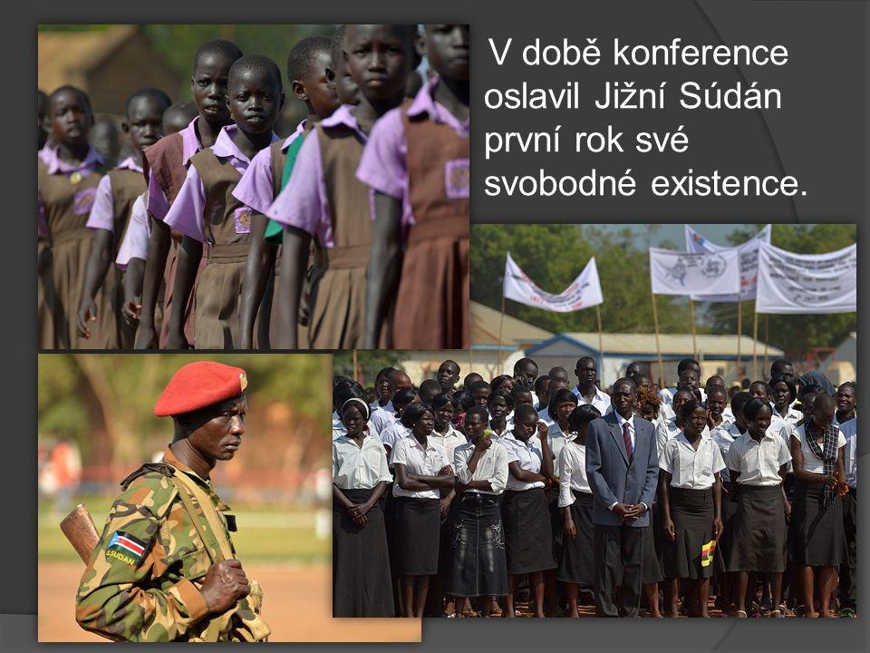 V době konference oslavil Jižní Súdán první rok své svobodné existence.