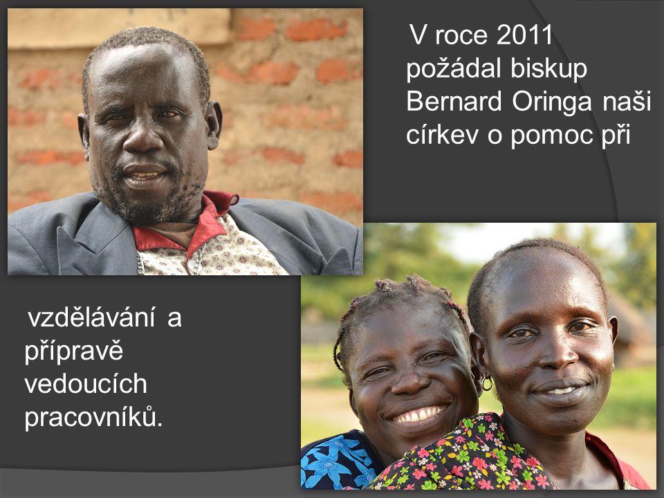 V roce 2011 požádal biskup Bernard Oringa naši církev o pomoc při vzdělávání a přípravě vedoucích pracovníků.