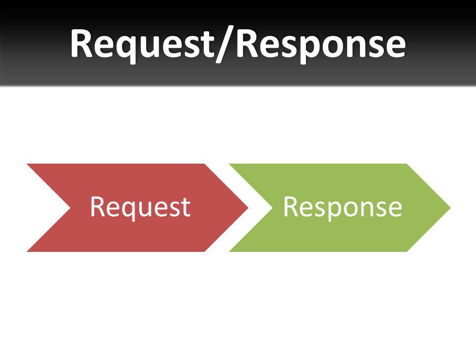 Request/Response RequestResponse