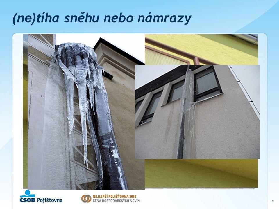 4 (ne)t íha sněhu nebo námrazy