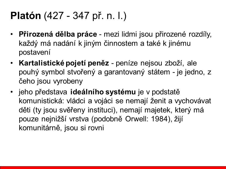 Platón (427 - 347 př.n.