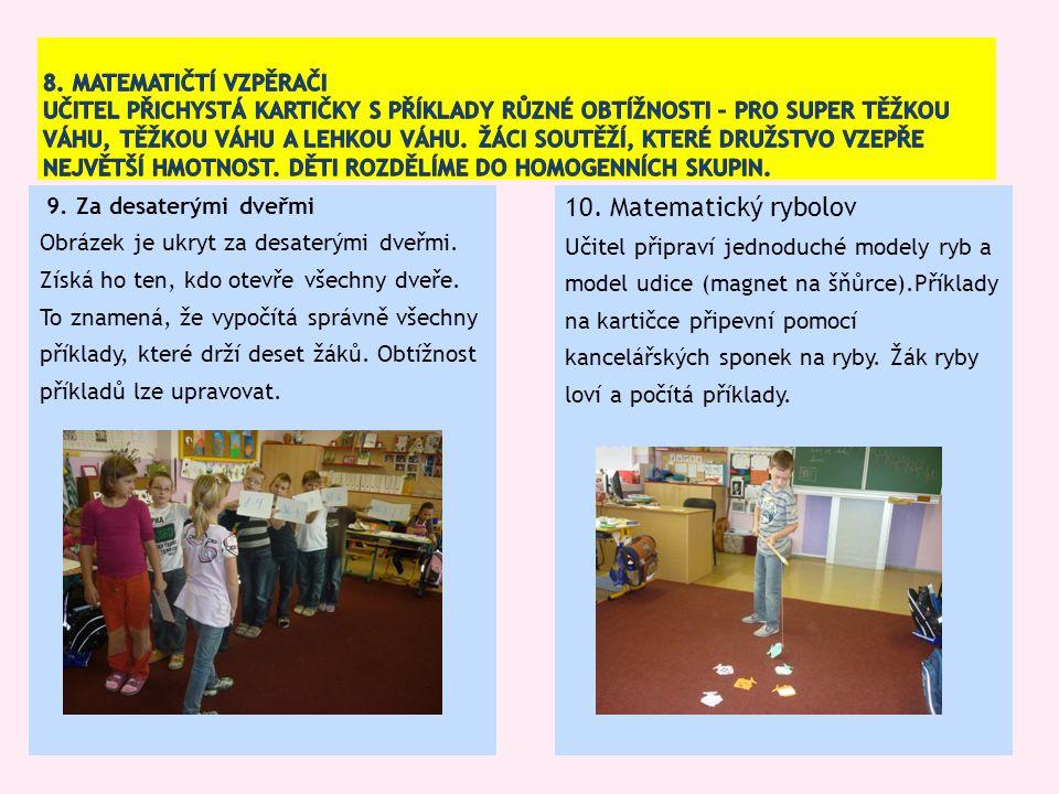 Michaela Kaslová – Sbírka úloh z matematiky Eva Krejčová – Inspiromat matematických her