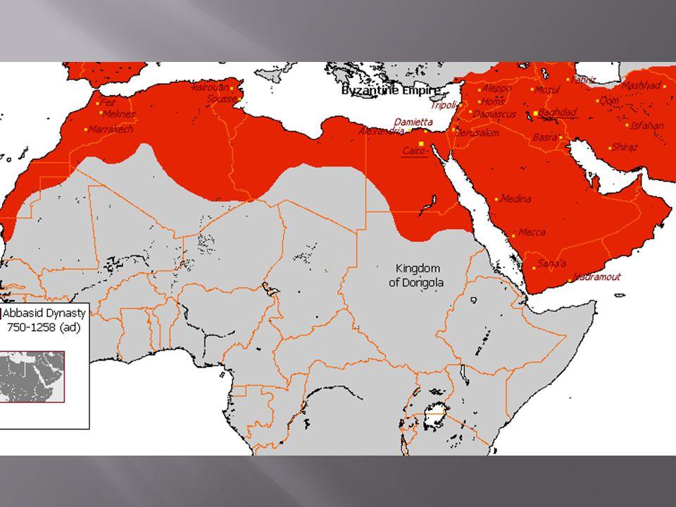  Arabové přes Herkulovy sloupy: 711  Cordóbský chalífát  Rozpad Cordóbského chalífátu 1031