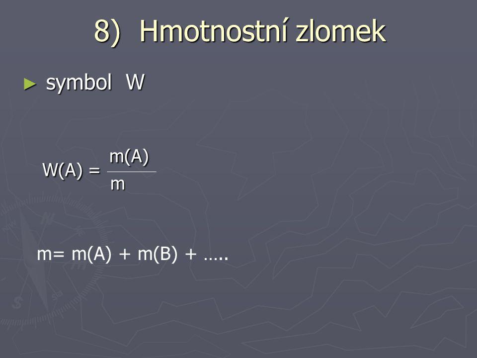 ► př: Jaká je molární koncentrace roztoku, jestliže v 5 l roztoku je obsaženo 800g NaOH.