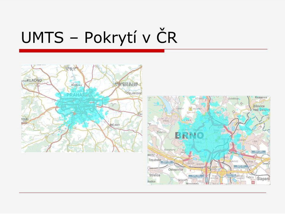 UMTS – Pokrytí v ČR