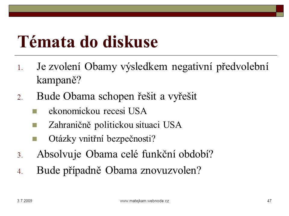 3.7.2009www.matejkam.webnode.cz48 Hlasy volitelů