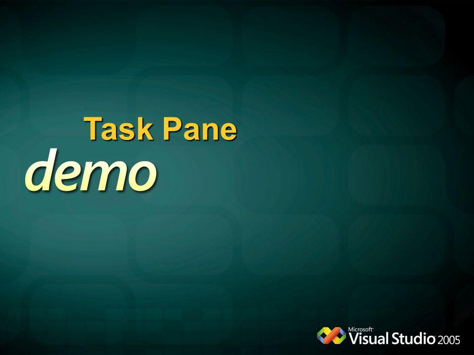 Task Pane