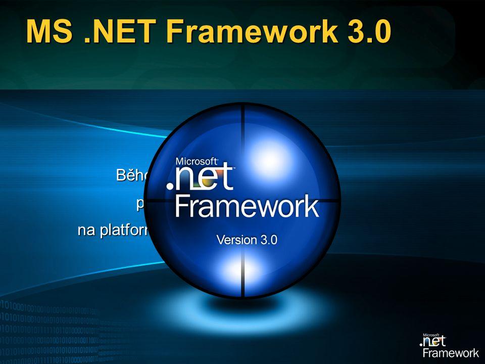 MS.NET Framework 3.0 Běhové prostředí pro řízený kód na platformě Windows
