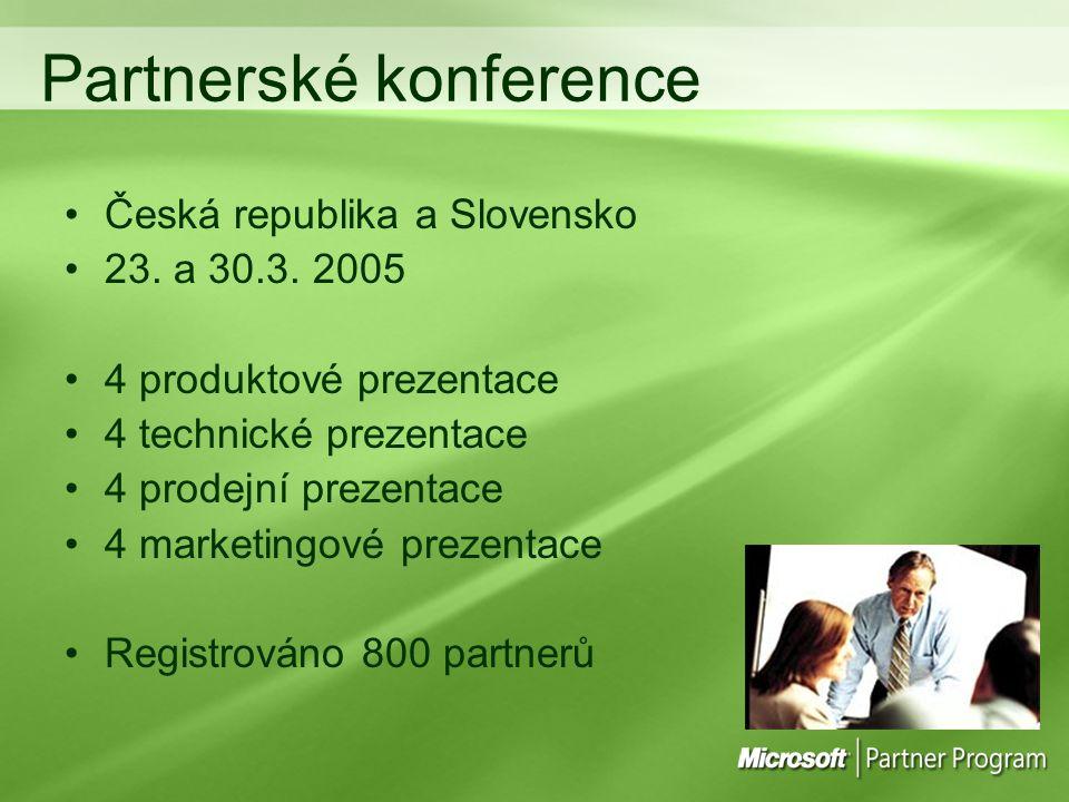 Partnerské konference Česká republika a Slovensko 23.