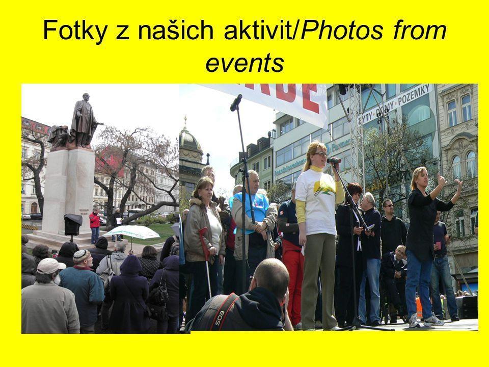 Fotky z našich aktivit/Photos from events