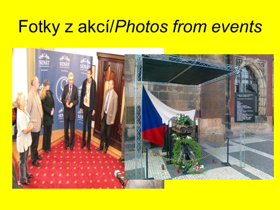 Fotky z akcí/Photos from events