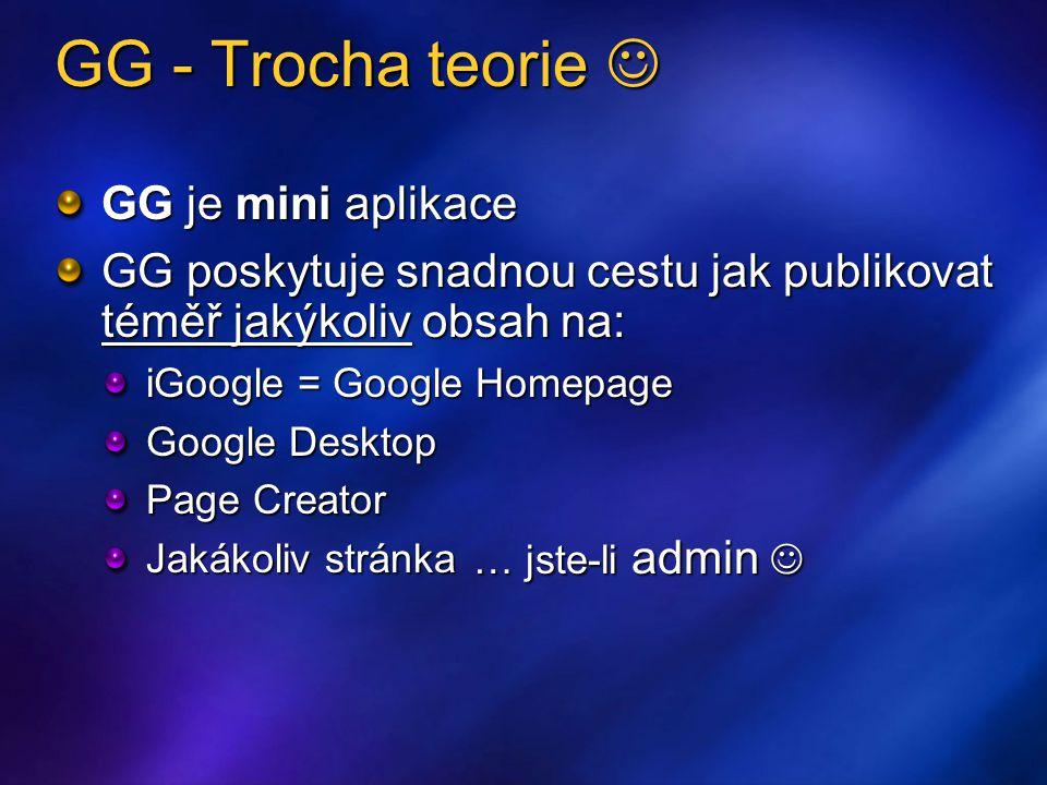 """Publikování Příprava Testovat šířku/výšku iGoogle, Page Creator Content Directory Syndication Nemůže být """"inline Nemůže ukládat stav Nemůže dynamicky nastavovat výšku _IG_AdjustIFrameHeight() Nemůže zobrazit User Preference  funkcionalita by na jejich nastavení nemela být závislá"""