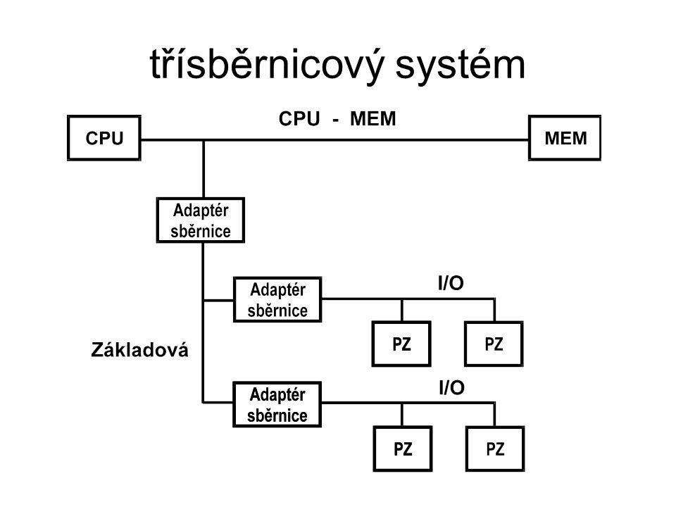 třísběrnicový systém