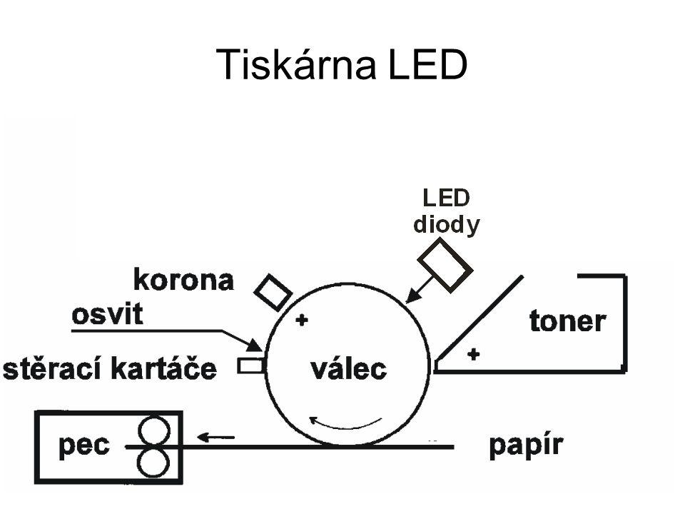 Tiskárna LED