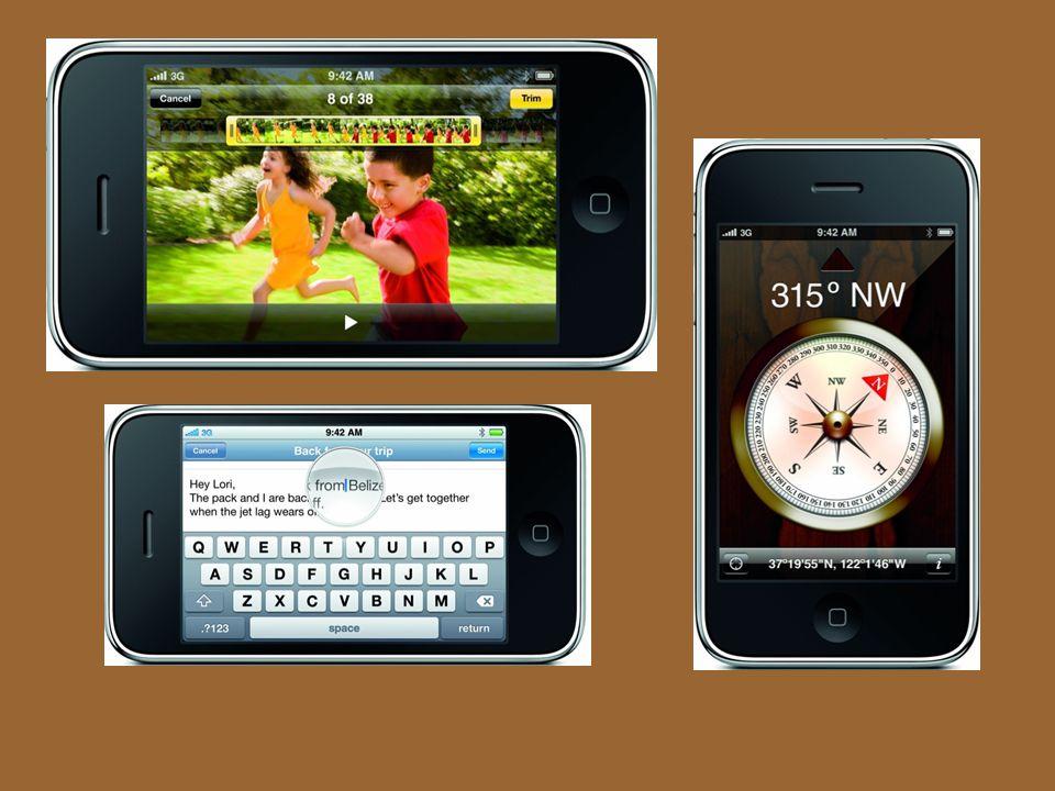 Informace Operační paměť: 256 MB Paměť flash : 32GB Displej: úhlopříčka: 8,9 cm Rozlišení: 480 × 320 px Operační systém iPhone OS Rozměry:115,5 mm × 62,1 mm × 12,3 mm Rychlejší HSDPA