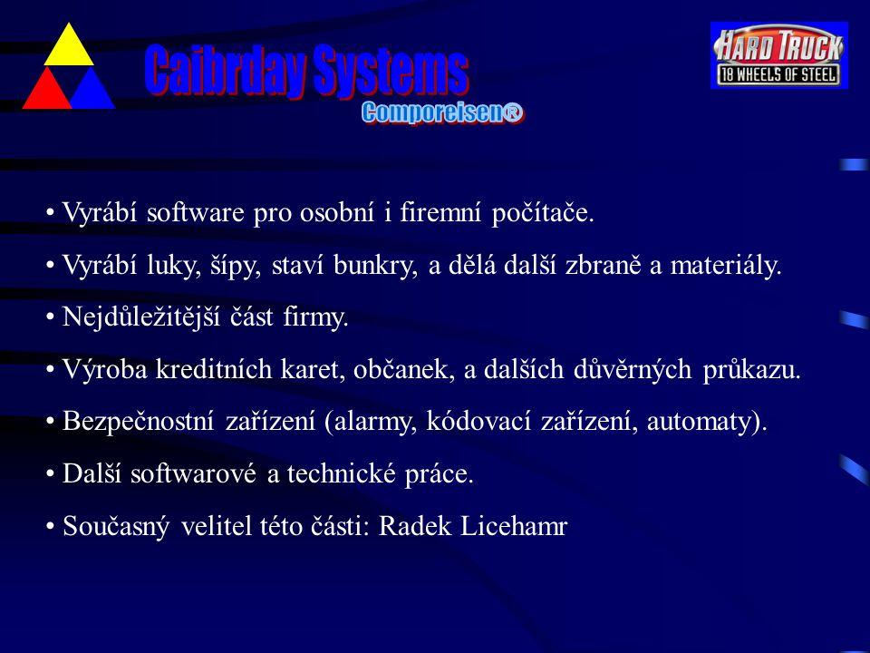 Vyrábí software pro osobní i firemní počítače.