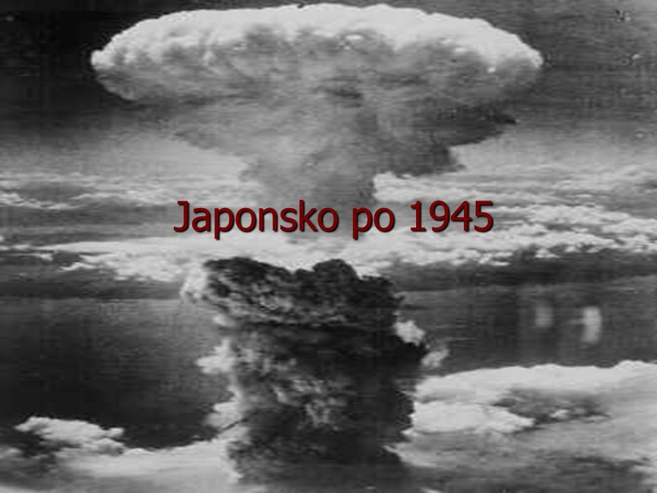Japonsko po 1945