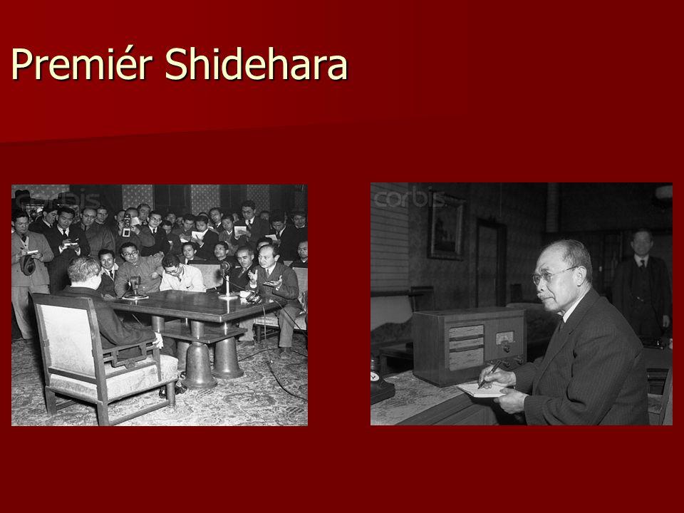 Premiér Shidehara