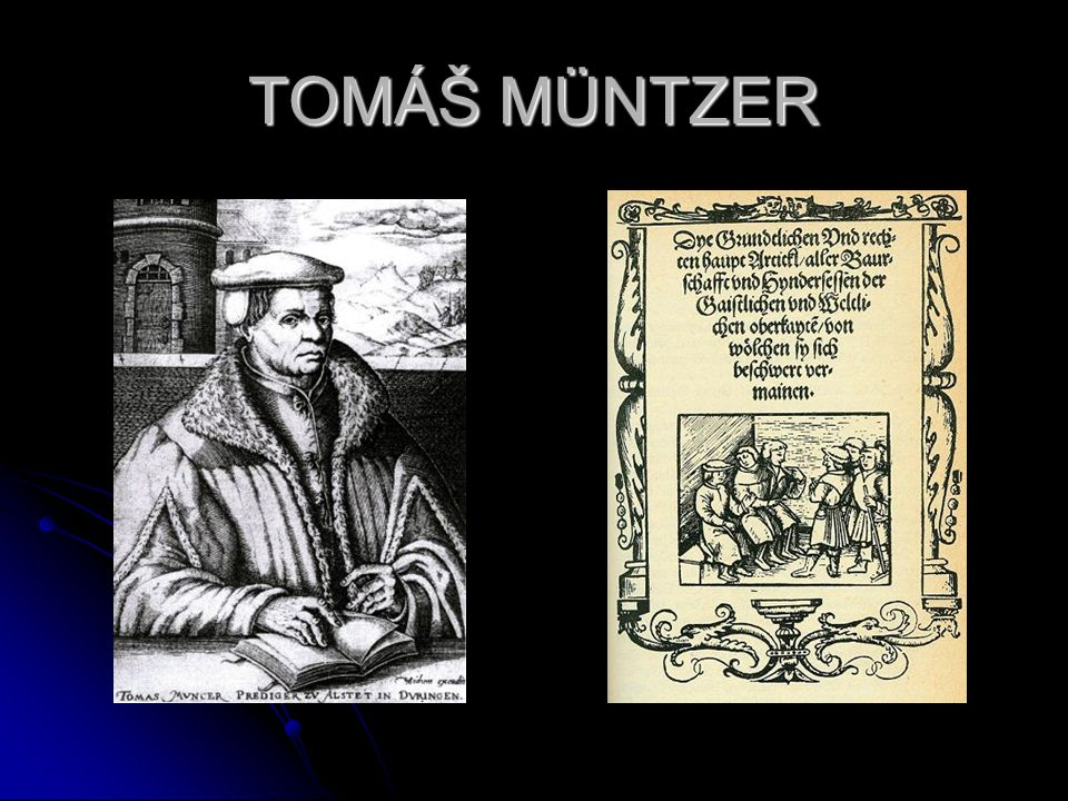TOMÁŠ MÜNTZER