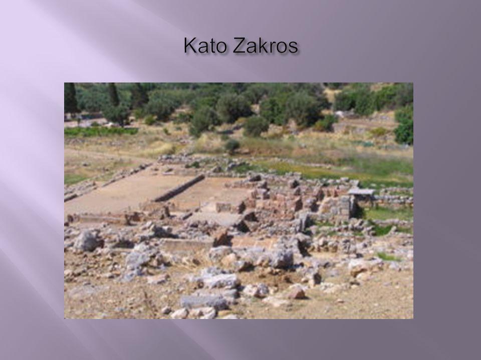 Paláce zbořeny! Knossos