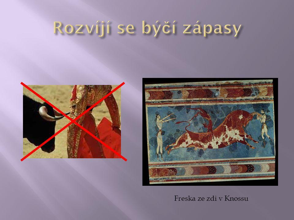 Freska ze zdi v Knossu