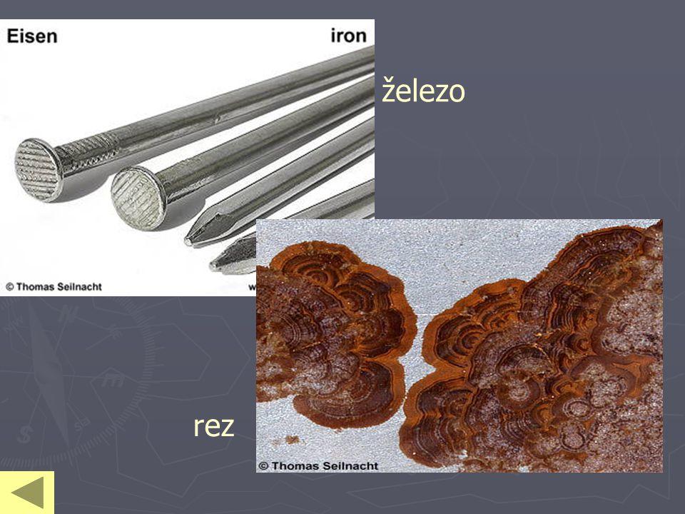 železo rez