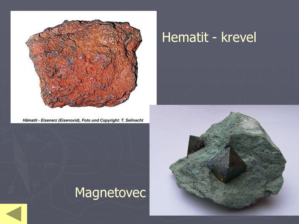 Hematit - krevel Magnetovec