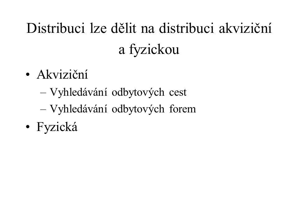 TVORBA DISTRIBUČNÍ CESTY 1.analýza požadavků a preferencí zákazníků, 2.stanovení limitů, které předurčují distribuční cestu, 3.stanovení distribuční strategie.