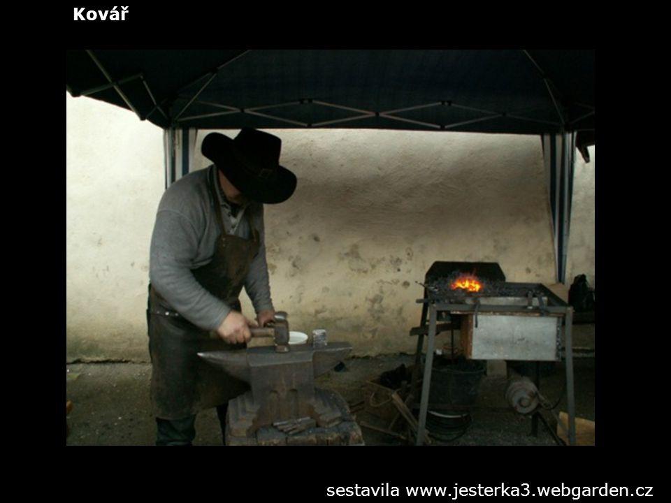 Kovář sestavila www.jesterka3.webgarden.cz