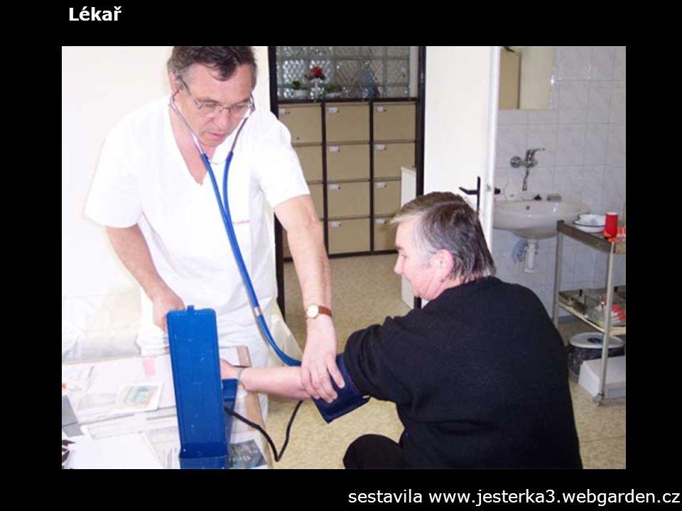 Lékař sestavila www.jesterka3.webgarden.cz