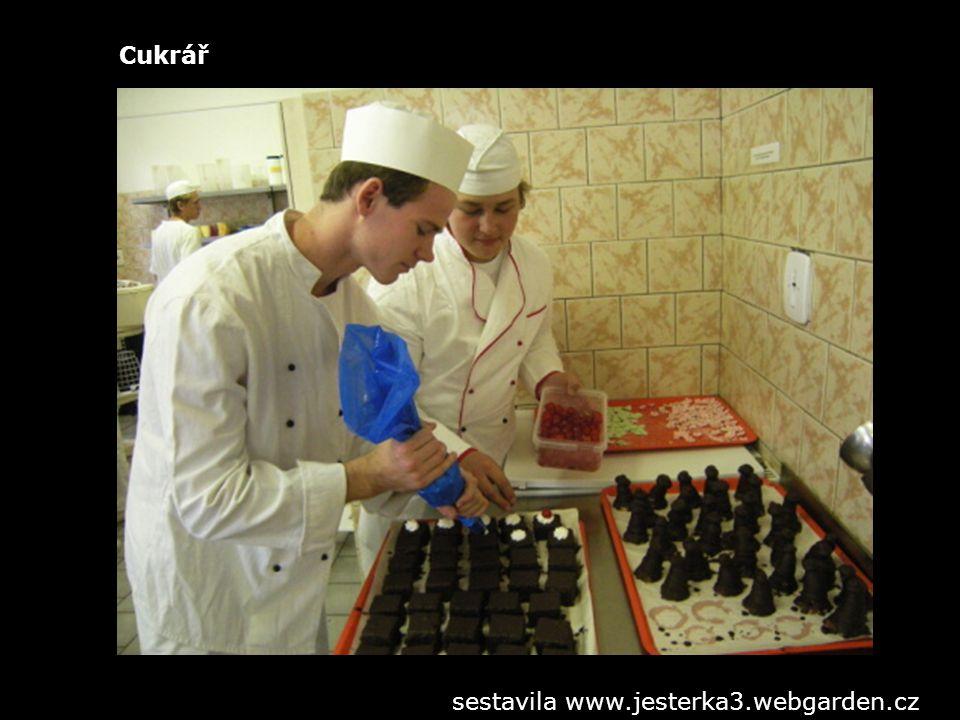 Ošetřovatel, chovatel sestavila www.jesterka3.webgarden.cz