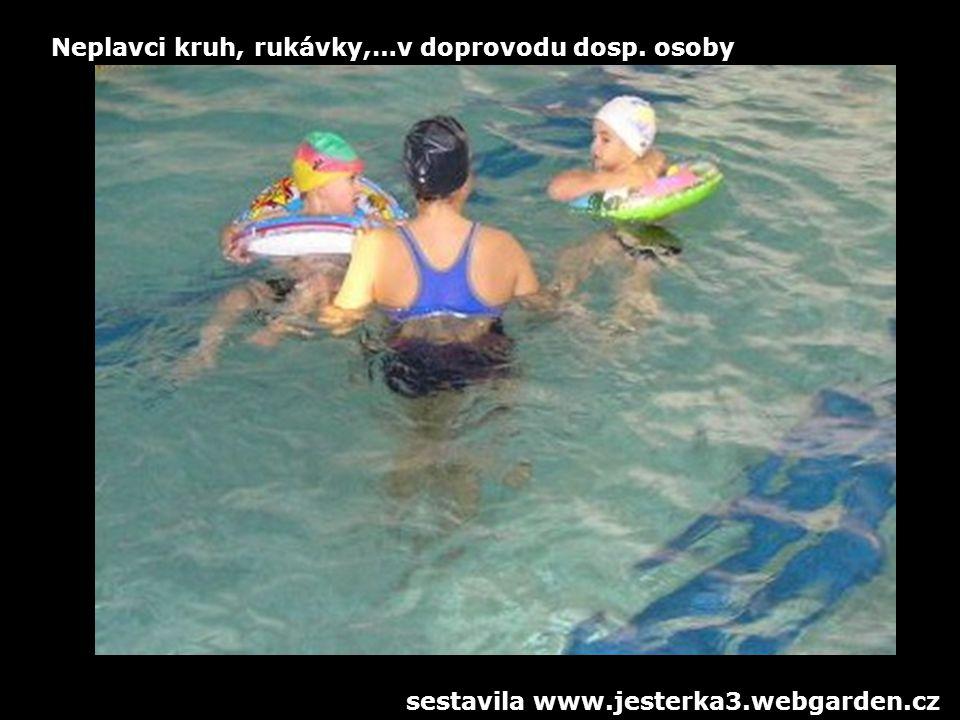 Neplavci kruh, rukávky,…v doprovodu dosp. osoby sestavila www.jesterka3.webgarden.cz