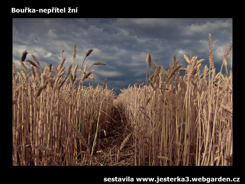Bouřka-nepřítel žní sestavila www.jesterka3.webgarden.cz