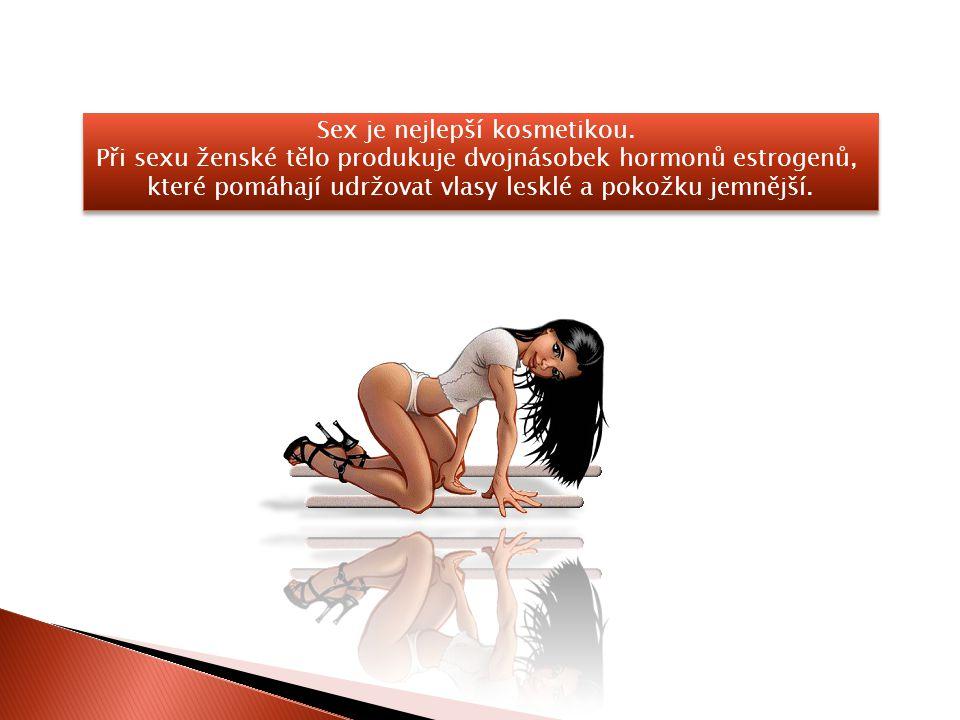 Při pravidelném sexu klesá rovněž hladina cholesterolu v krvi a upravuje se poměr špatného a dobrého cholesterolu.