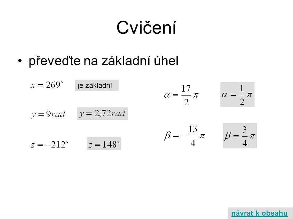 Monotonie y x I.kvadrant x1x1 cosx 1 x2x2 cosx 2 - klesající x1x1 x2x2 cosx 1 cosx 2 II.