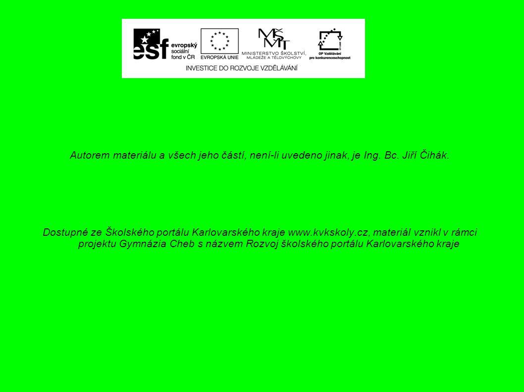 List : 2 Technologie zedník 3.ročník Autorem materiálu, není-li uvedeno jinak, je Ing.