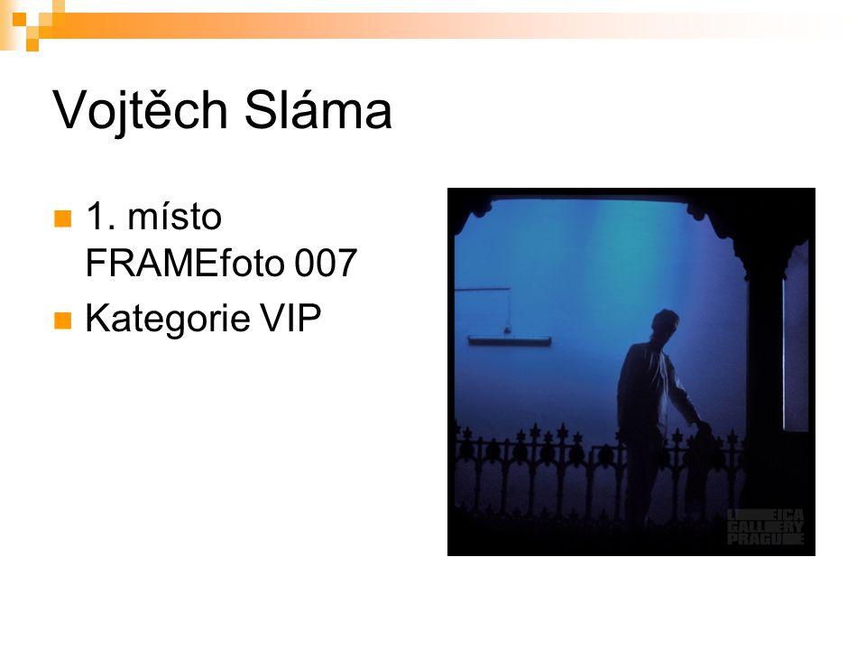 Vojtěch Sláma 1. místo FRAMEfoto 007 Kategorie VIP