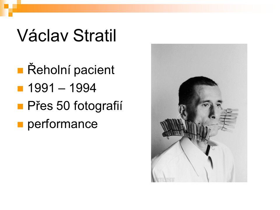 Řeholní pacient 1991 – 1994 Přes 50 fotografií performance