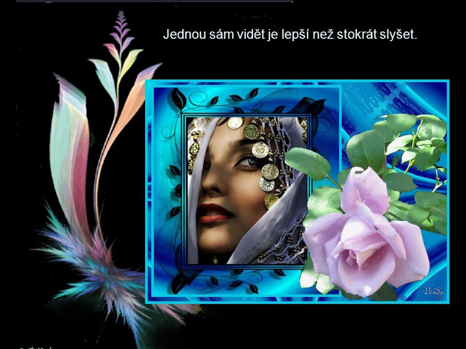 Nemilovat krásnou ženu je zločin, milovat ji je trest.