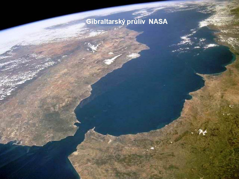 Gibraltarský průliv © ESA