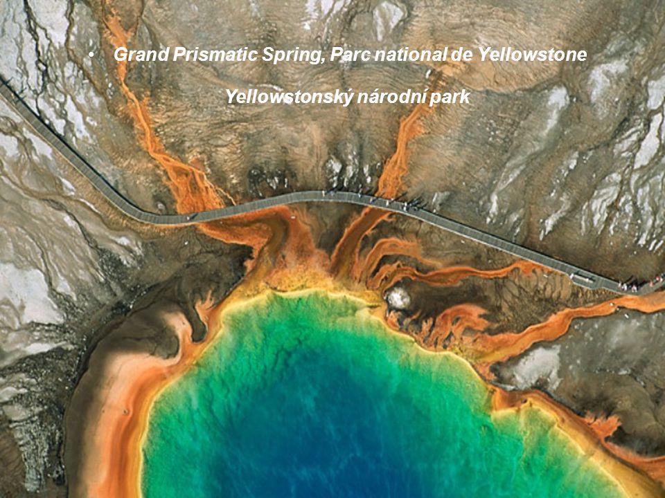 Grand Prismatic Spring, Parc national de Yellowstone Yellowstonský národní park