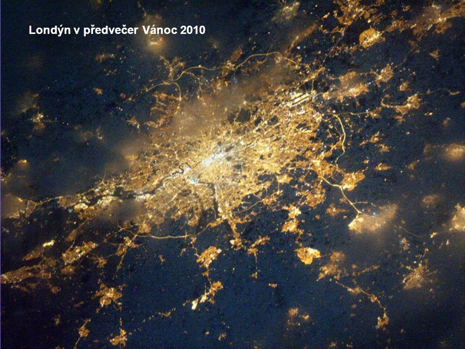 Lisabon v noci 31. prosince 2010