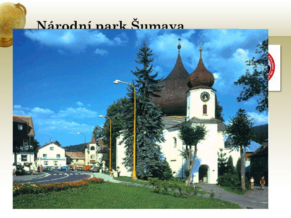 Národní park Šumava je největší ze 4 NP Rozloha NP: 683,3 km 2 20.března 1991 Zelená střecha Evropy – Proč.