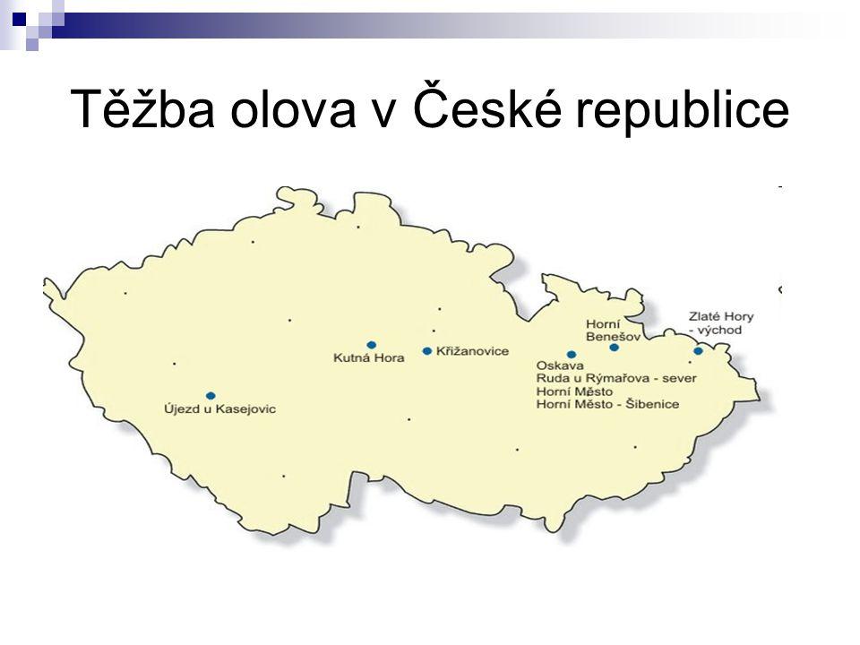 Těžba olova v České republice