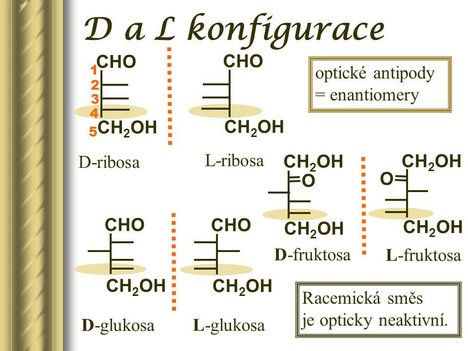  s poloacetalovým hydroxylem jiného sacharidu  s necukerným hydroxylem (alkohol) reakcí poloacetalového hydroxylu vzniká acetalová GLYKOSIDOVÁ VAZBA  s jiným než poloacetalovým hydroxylem jiného sacharidu  s amino(imino)skupinou neredukující disacharidy N-glykosidy O-glykosidy redukující disacharidy Reakce monosacharid ů