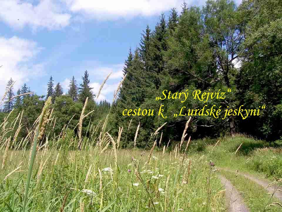 """""""Čertovy kameny"""" """"Rejvíz"""" chodník k """"Mechovému jezírku"""" """"Velké mechové jezírko"""" (769 m)"""