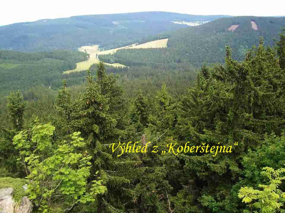 """Starý Rejvíz """"Lurdská jeskyně Zřícenina hradu """"Koberštejn (934 m) Výhled z """"Koberštejna"""