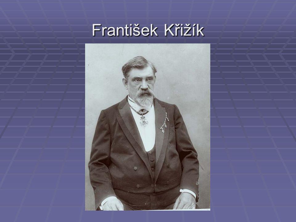 František Křižík se narodil 8.července 1847 v Plánici u Klatov.