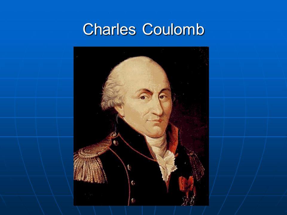 Charles Coulomb se narodil 14.června 1736 v Paříži.